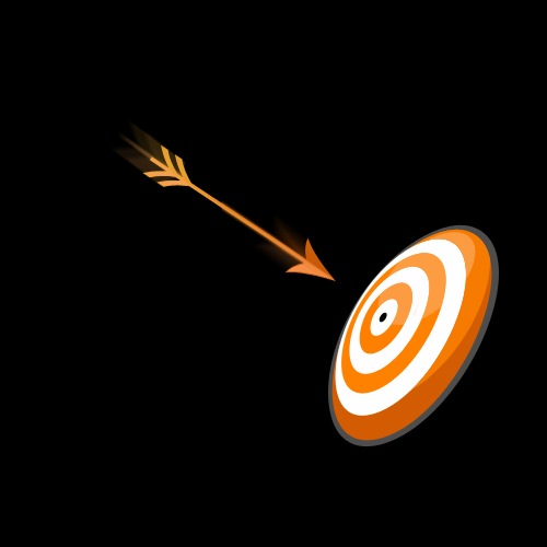 Aim Target Logo Aim Logo For Myspace Icon