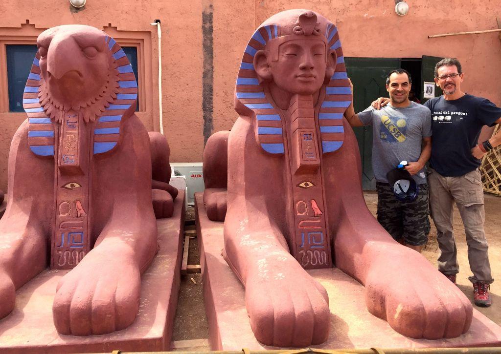 Sphinx w artist