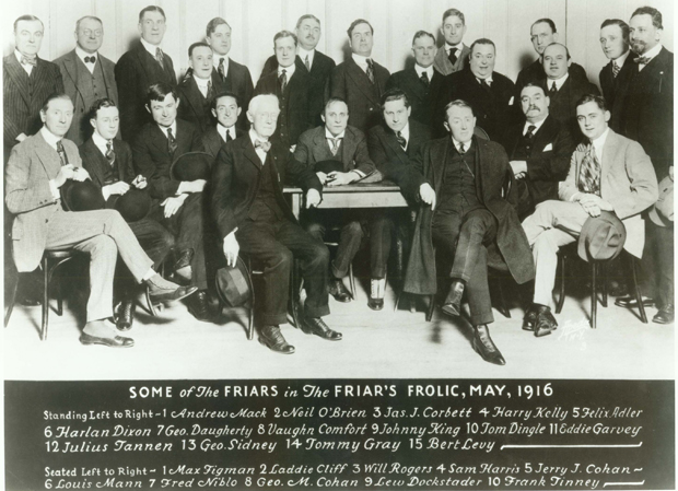 History of the Friars Club